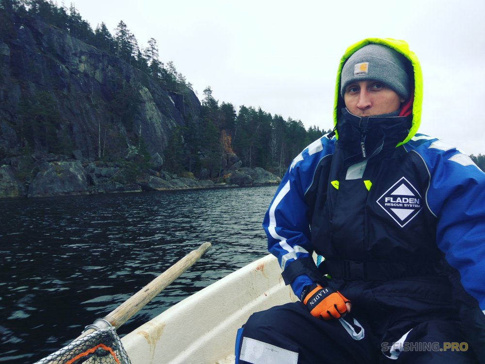 World Fishing Tackle: Костюм-поплавок Fladen 22-8920S проверен в деле!