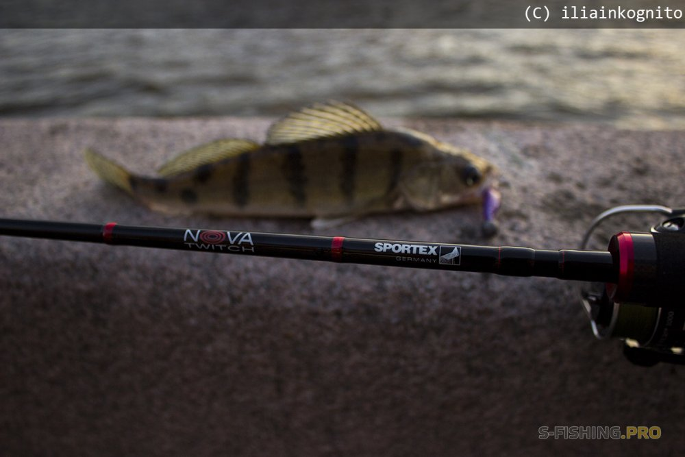 Sportex Nova Twitch PT 2100 215см 3-14гр