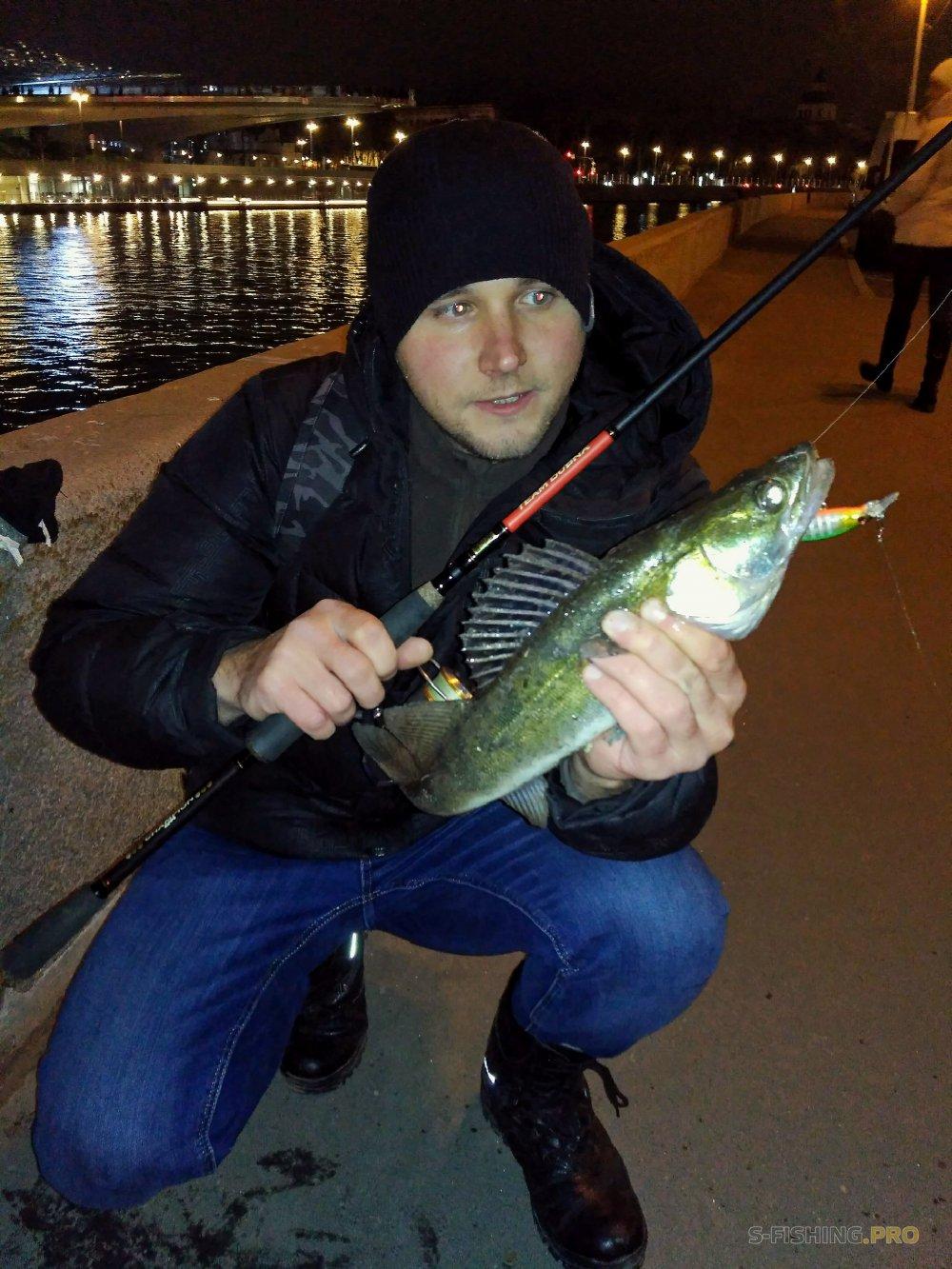 Отчеты с водоемов: Вечерний Street Fishing. Судак на ITUMO Fatty Minnow 70F