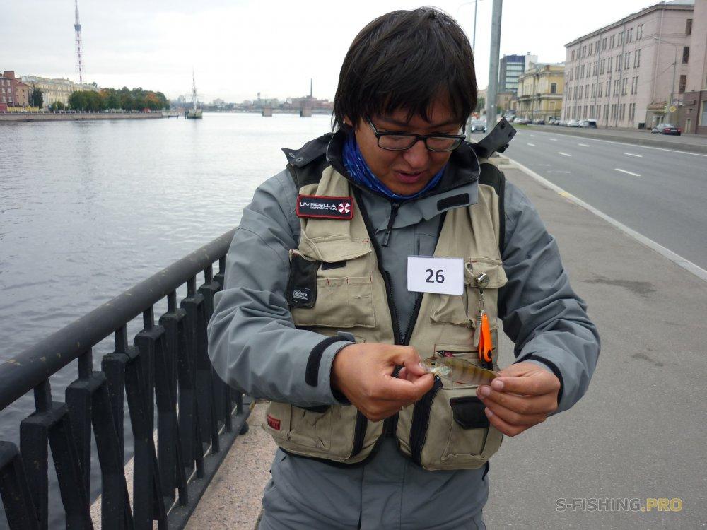 Микроджиг с LureMax на Невских Встречах