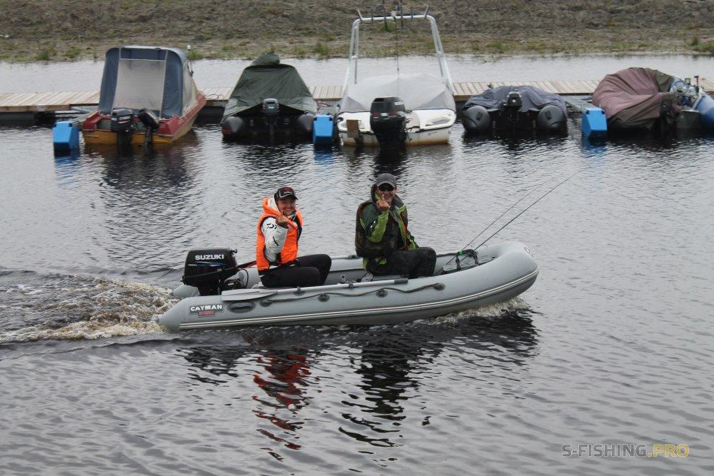 Чемпионат СПб по ловле рыбы спиннингом с лодок или В погоне за КМС-ами.