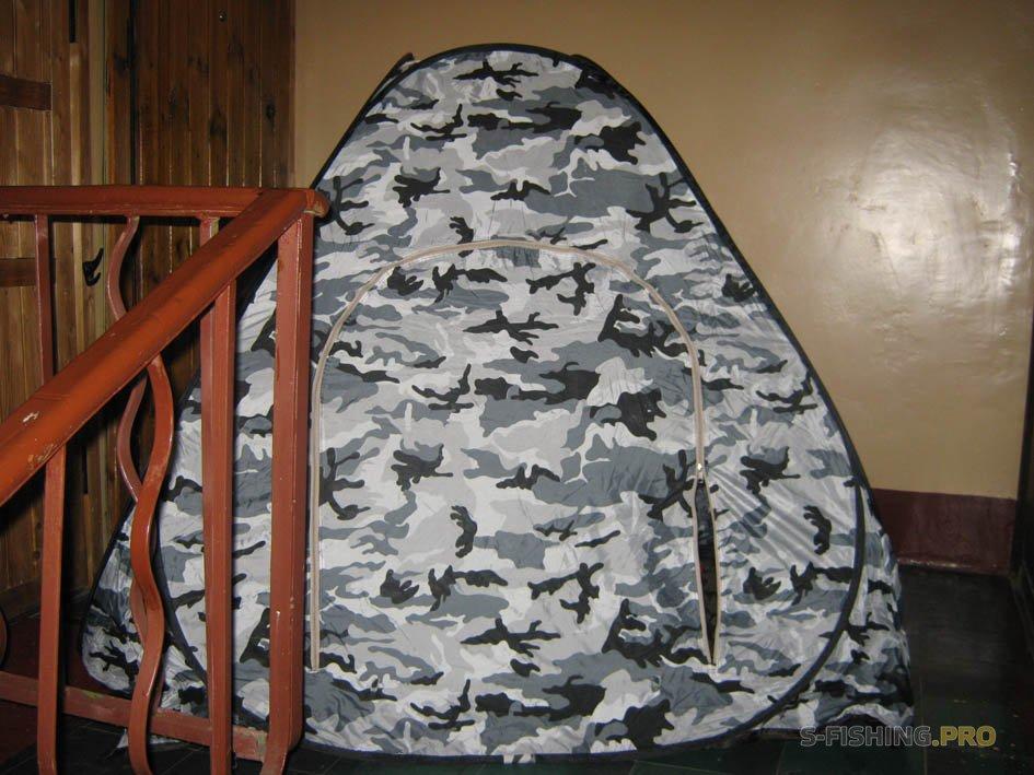 Экипировка: Обзор палаток для рыбалки со льда. 1 и 2 часть.