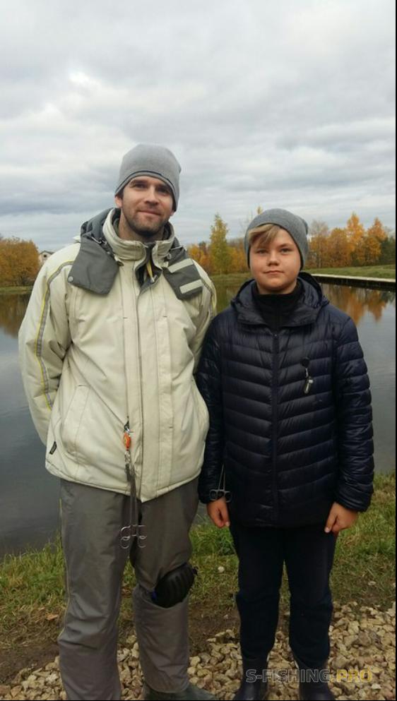 Отчеты с водоемов: Первая в жизни ловля форели и первые соревнования!