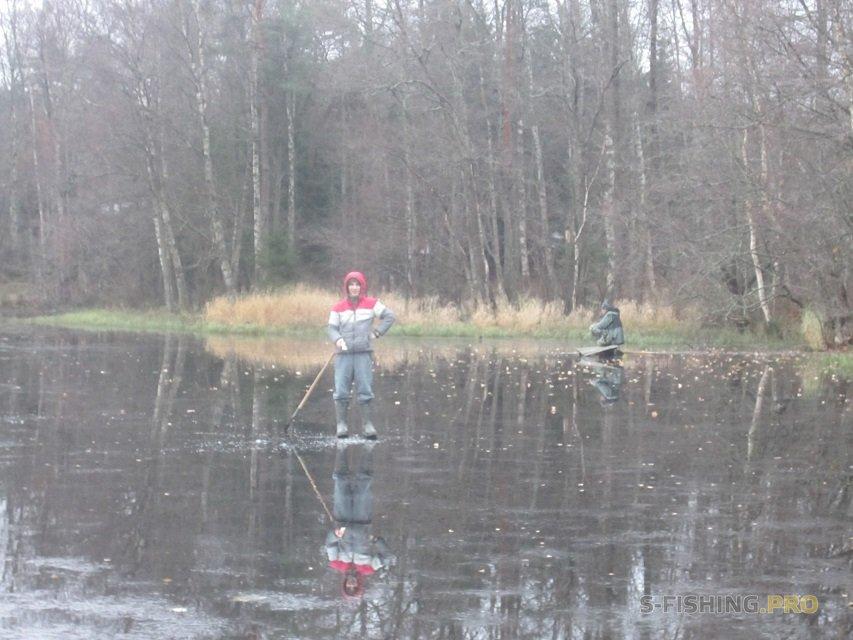 Отчеты с водоемов: Перволёдье, Юшкеловское озеро, зимняя блесна.