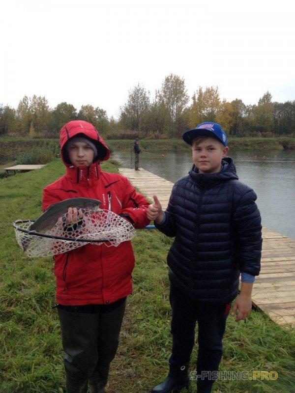 Отчеты с водоемов: Команда юных форелистов - или как мы тренировались на Рыбных Прудах.