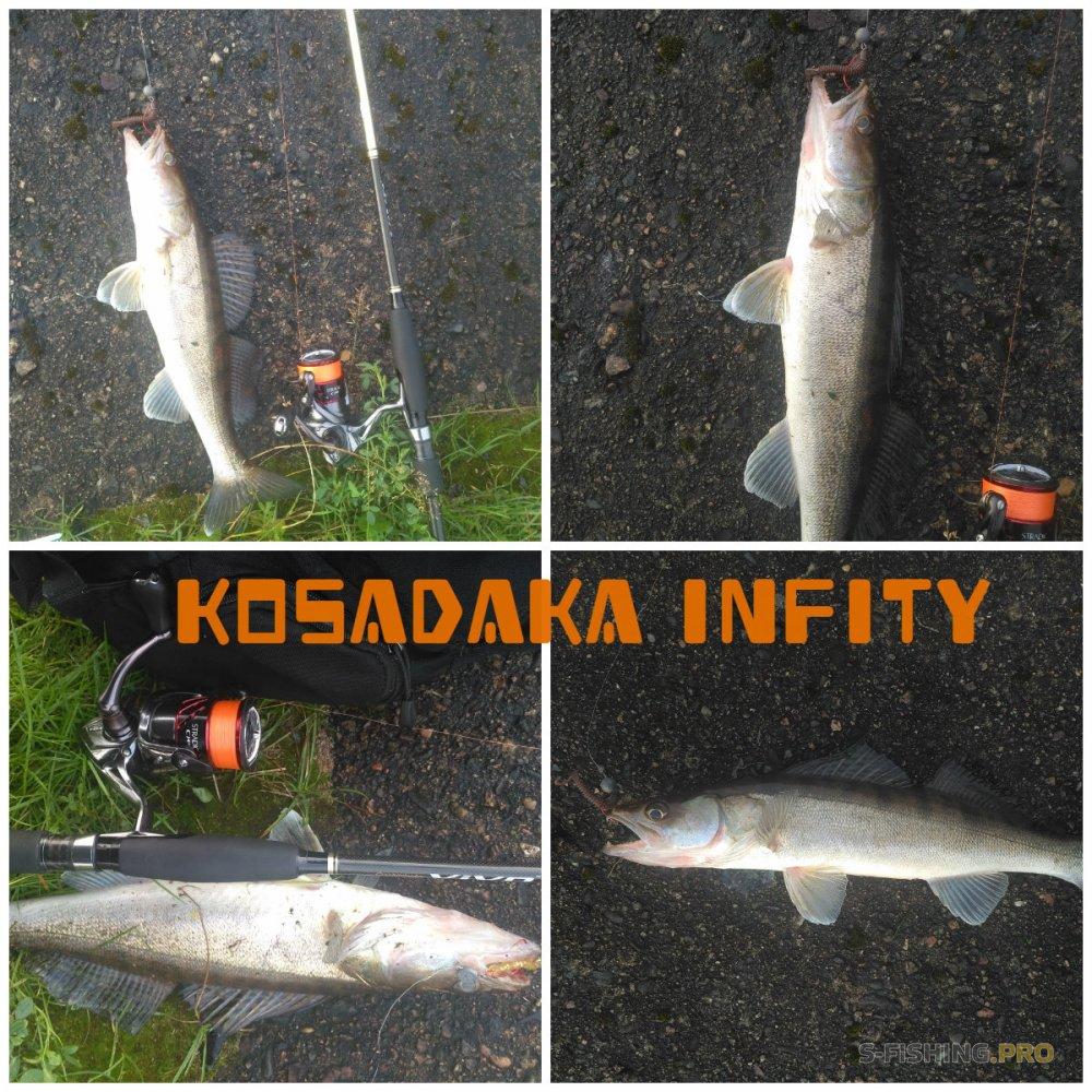 Обзоры: Шнур Kosadaka Infinity