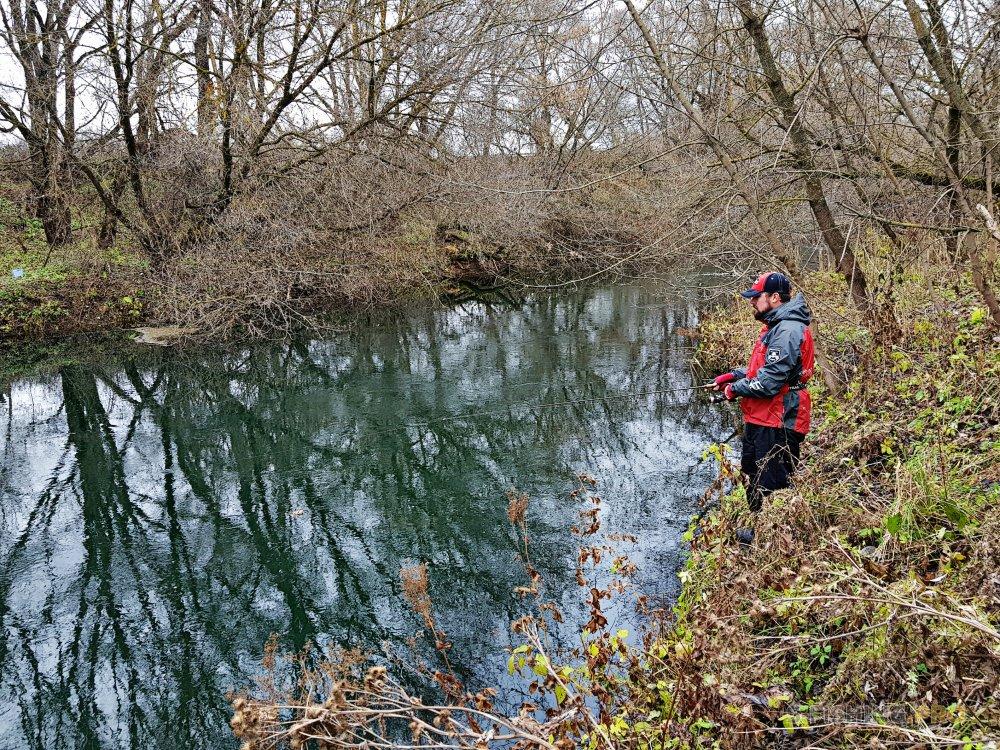 Отчеты с водоемов: Три реки