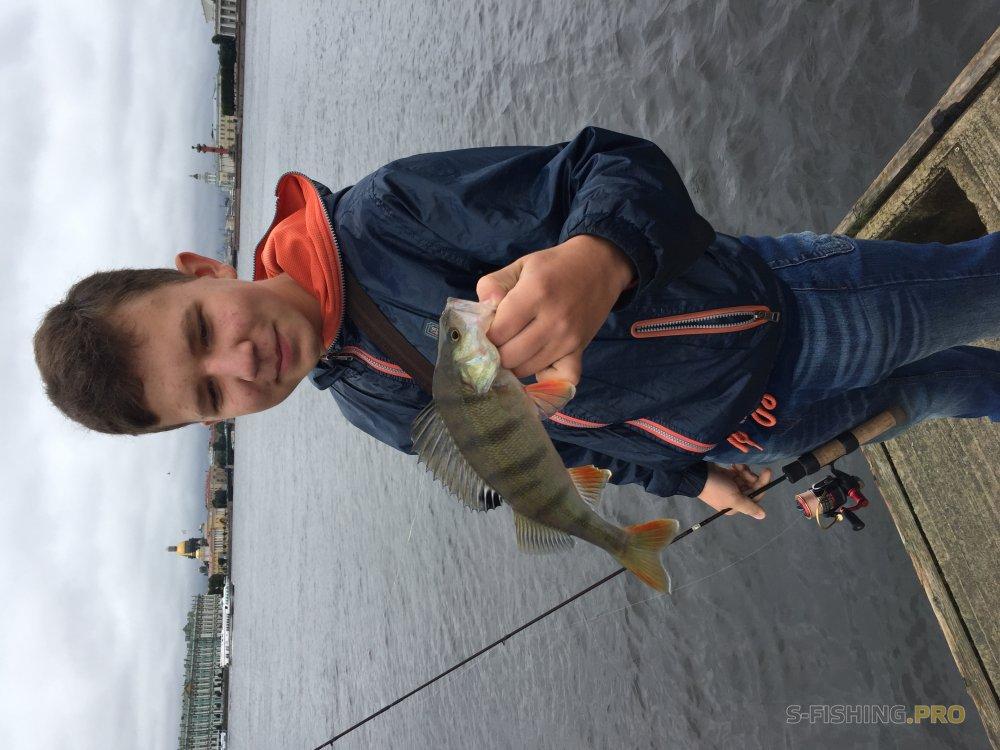 Первая рыбалка с LureMax