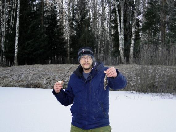 Первый лёд или последняя рыбалка в этом году