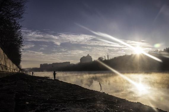 Отчеты с водоемов: Блог им. shoori: Сброс воды на Москва - реке