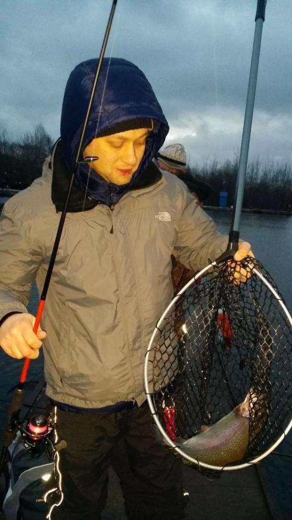 Отчеты с водоемов: Последняя рыбалка уходящего года на платнике Супер карп (26.12.2015)