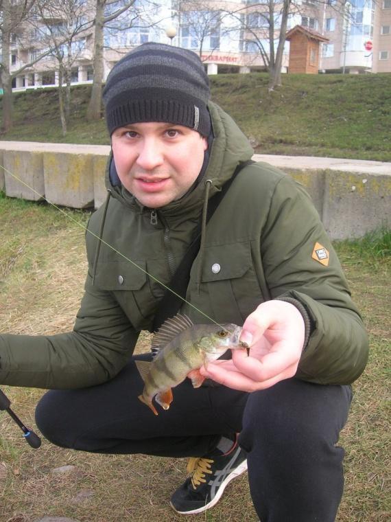 Отчеты с водоемов: Блог им. Kolyanza: Street fishing в Минске, река Свислочь, Немига