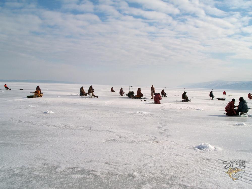 на льду,после обеда