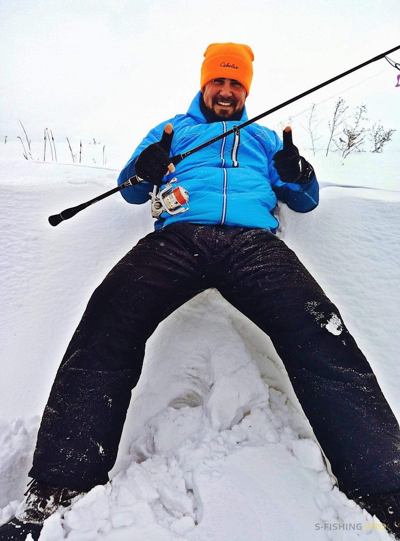 рыбалка в снежков