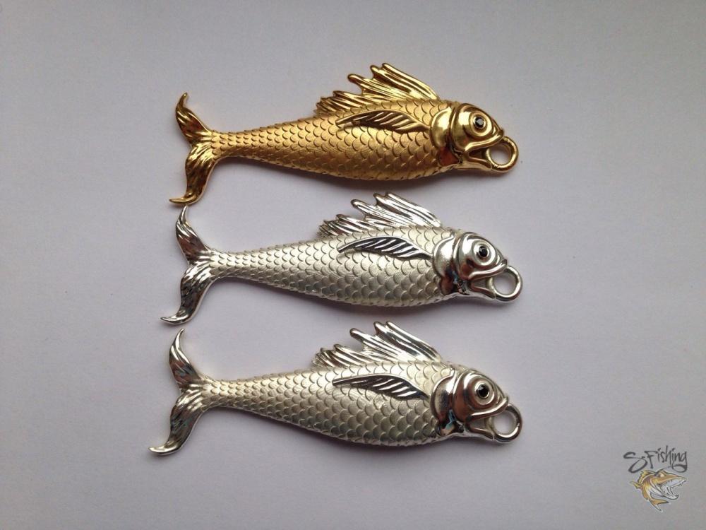 сувенирные рыбки RINGGOLD из серебра