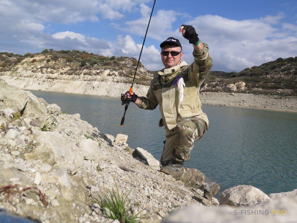 Отчеты с водоемов: ЗИМНЯЯ РЫБАЛКА НА КИПРЕ (часть 2) - Evretou Dam