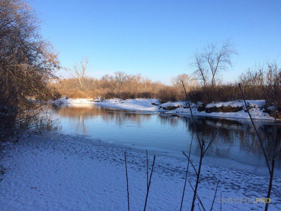 Отчеты с водоемов: Большая прогулка. Зимний спиннинг.