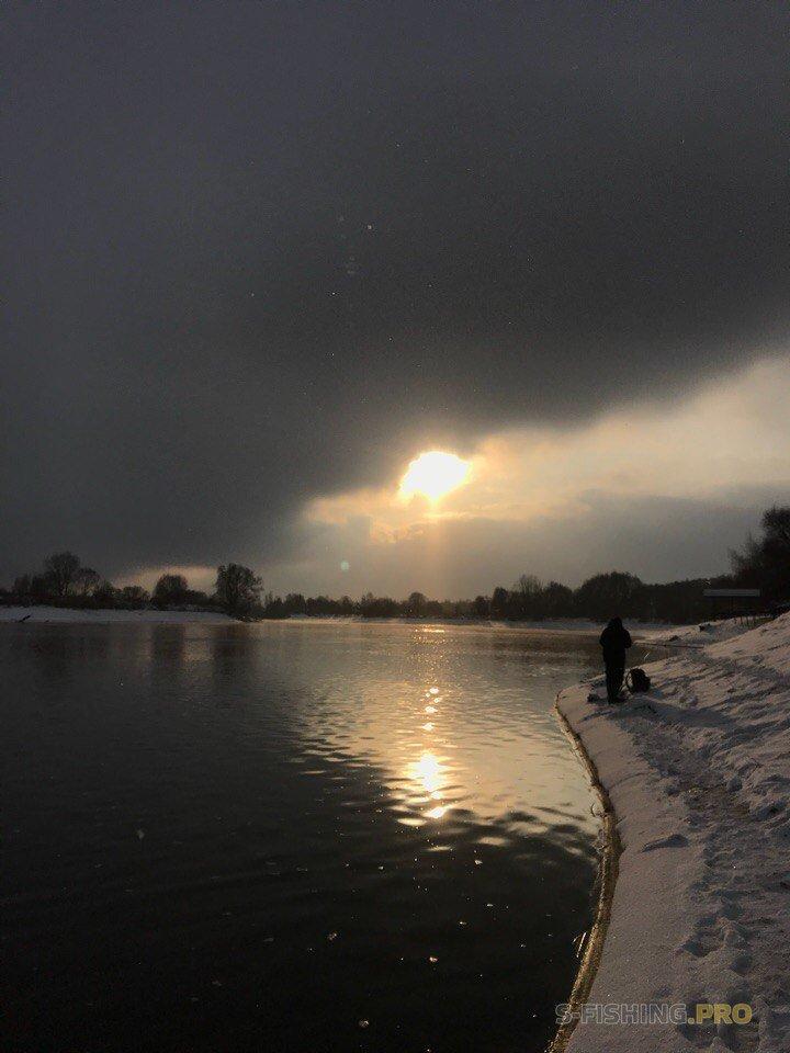 Отчеты с водоемов: Загадочная Москва-Река в январе после праздников