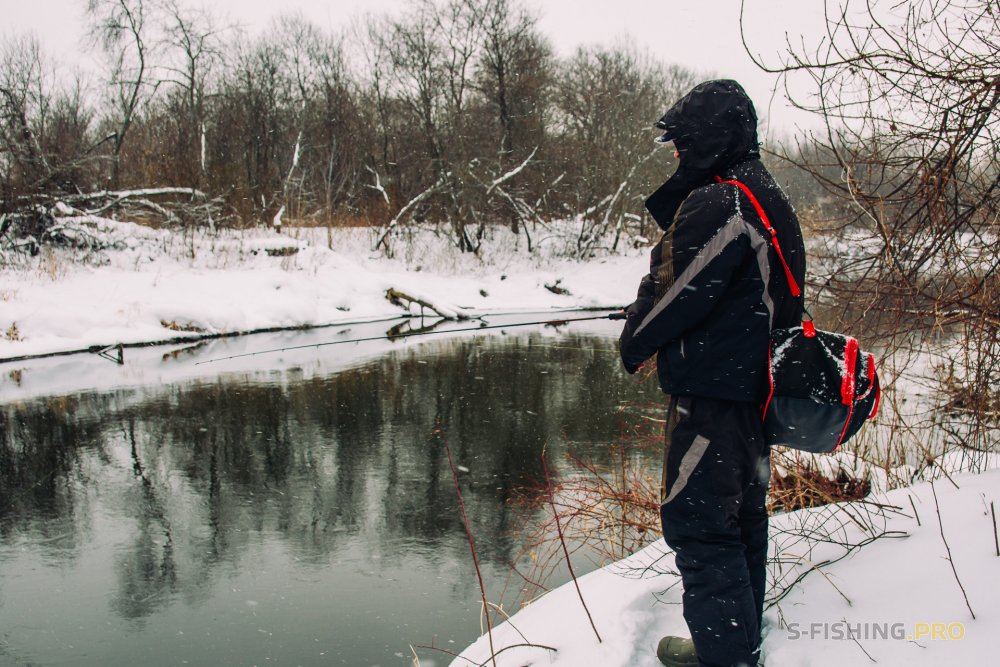 Отчеты с водоемов: Ловля в снегопад.