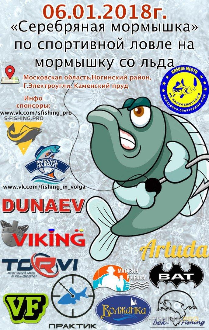 Мероприятия: Серебряная мормышка - турнир по ловле со льда