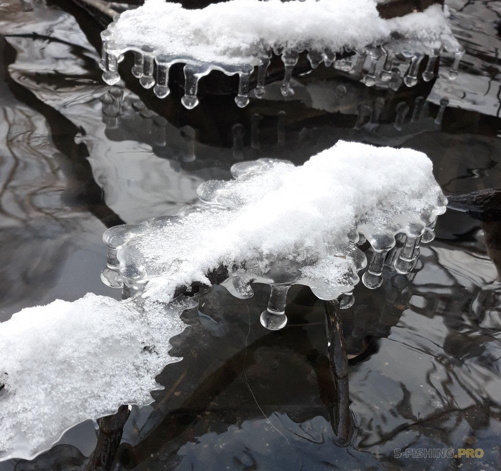 Отчеты с водоемов: Щуки на незамерзающих реках подмосковья