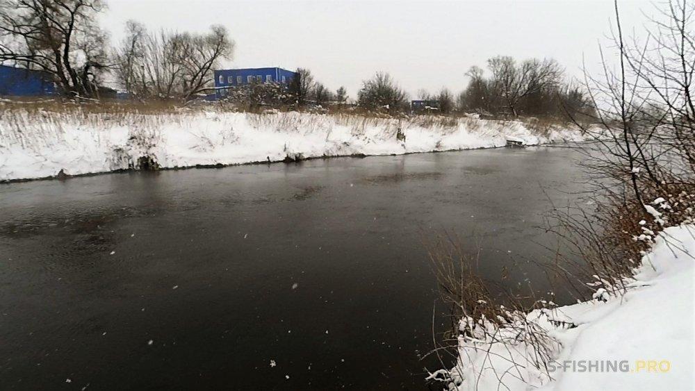 Отчеты с водоемов: По сугробам Пехорки...