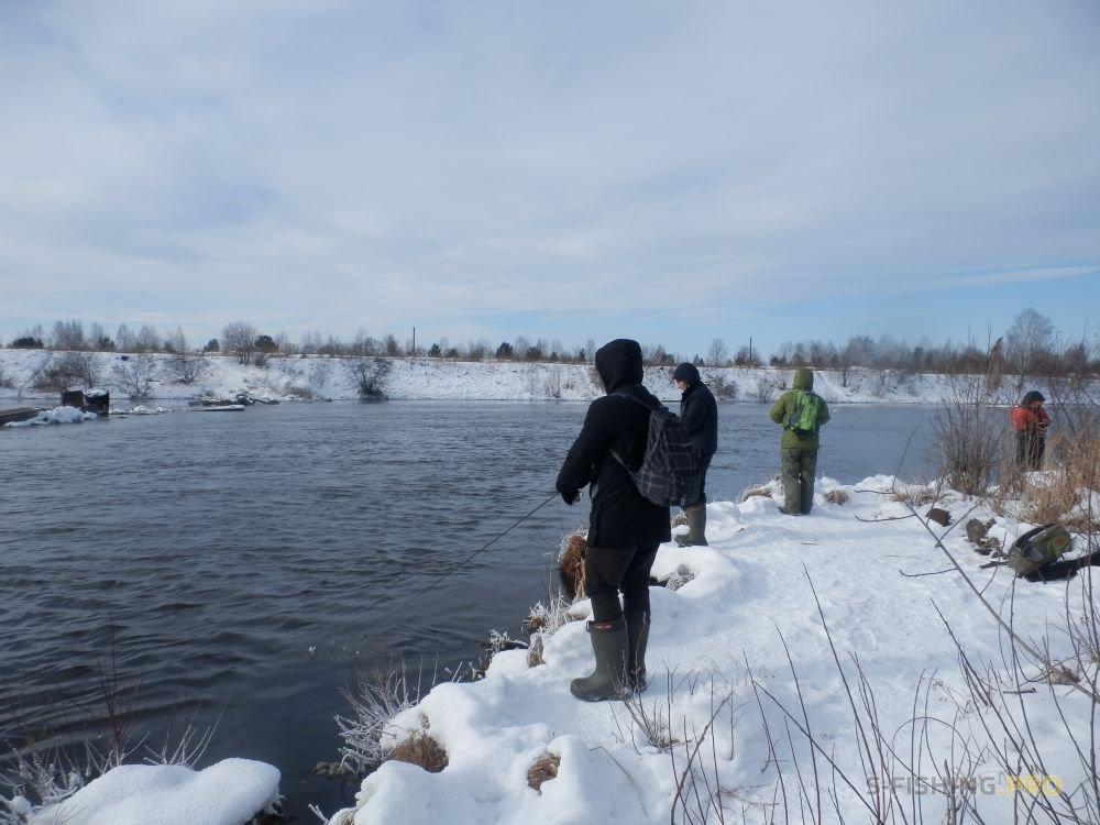 Отчеты с водоемов: Зимний спиннинг на Урале.
