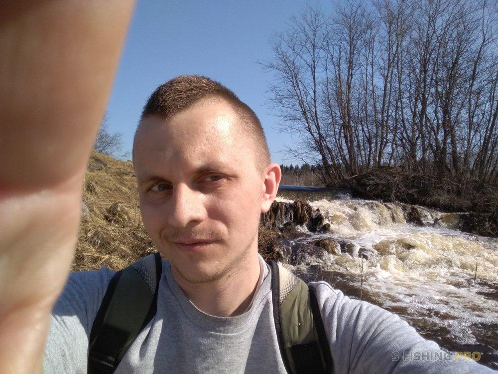 Отчеты с водоемов: Весенняя речка