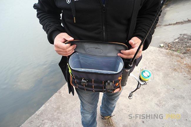 Экипировка: Допилил поясную сумку под береговые