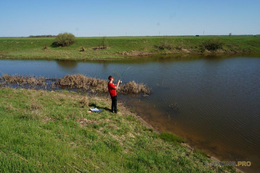 Отчеты с водоемов: У водоема в майские праздники