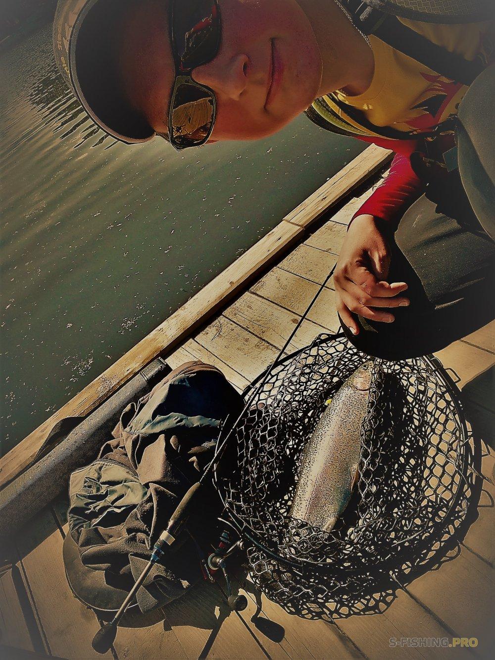 Отчеты с водоемов: Areafishing. Первый опыт.