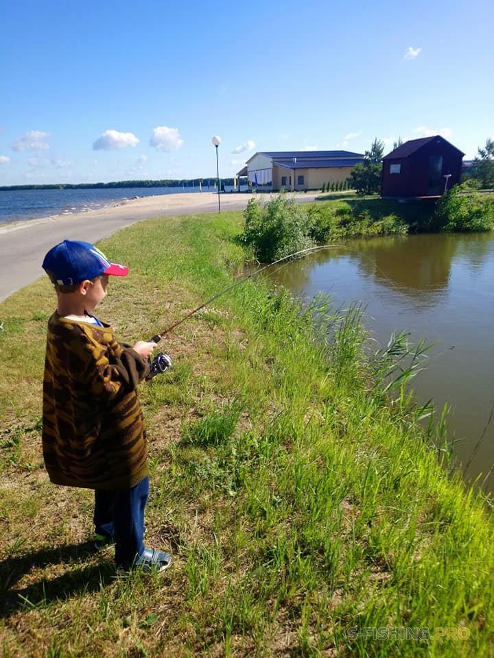 Отчеты с водоемов: Рыбалка с сыном.