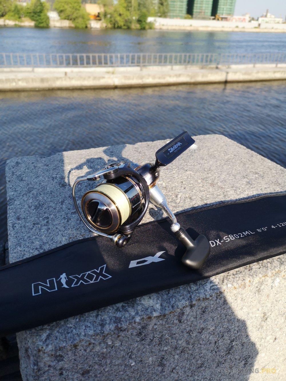 Отчеты с водоемов: Первая рыбалка на NIXX DX