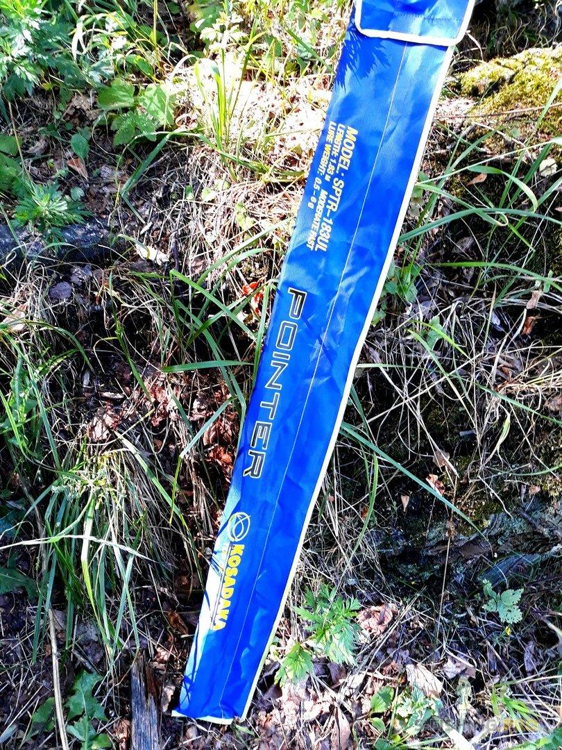 Отчеты с водоемов: Знакомство с Kosadaka Pointer и залётная щука со струи