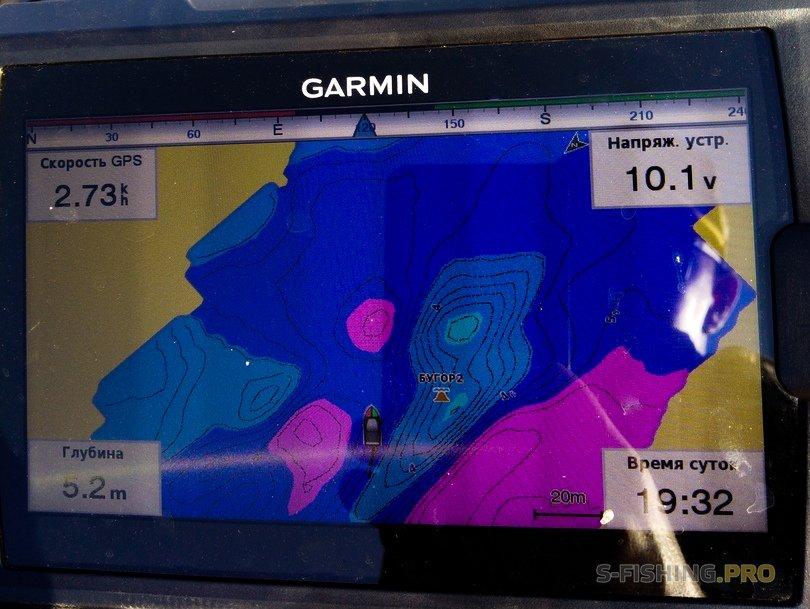 Обзоры: Garmin Striker Plus 7sv - многофункциональный эхолот.