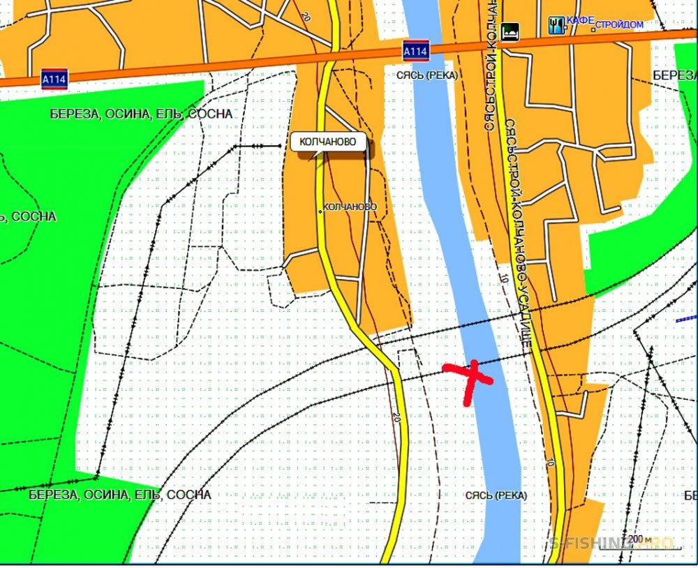 Отчеты с водоемов: Экспромт к реке Сясь на прошлое место.