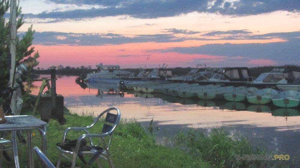 Отчеты с водоемов: Короткая рыбалка на реке Волхов.