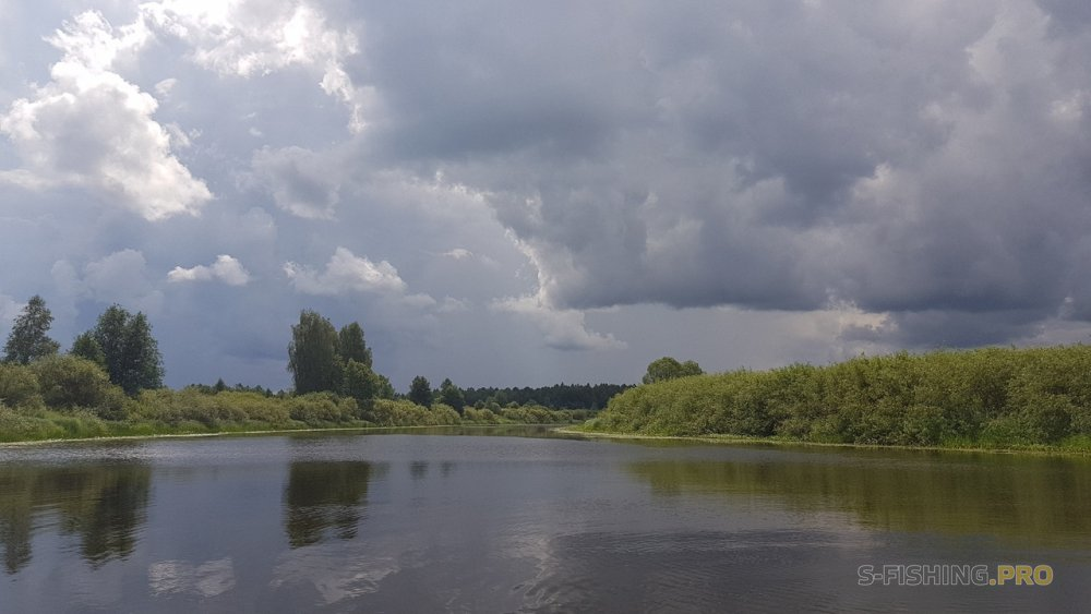 Отчеты с водоемов: Малая река в жару