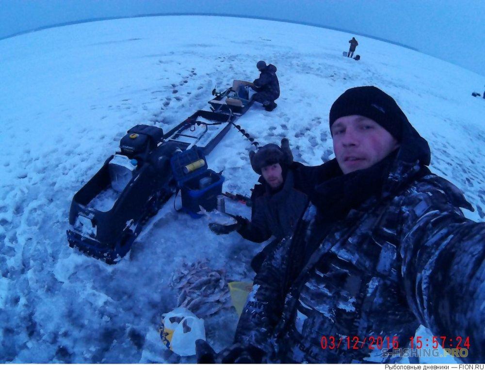Отчеты с водоемов: Отчет о рыбалке: 03 декабря 2016 - 04 декабря 2016, Волга (Пучеж)