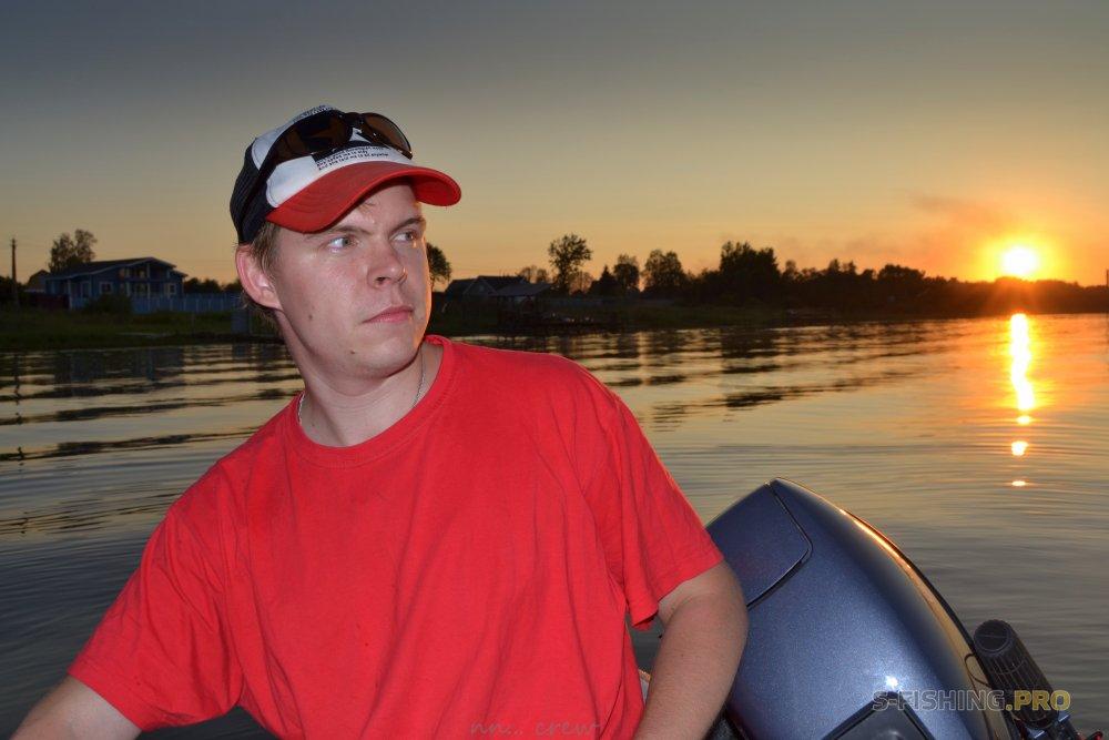 Отчеты с водоемов: Сальто в лодке