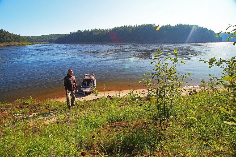 Отчеты с водоемов: Особенности Енисейской рыбалки- река в реку и озеро в джунглях.
