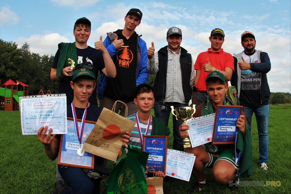REDFISH CLUB | St.Petersburg Area Fishing Club: Отборочный этап Nories Cup Russia Junior 2018. О организации.