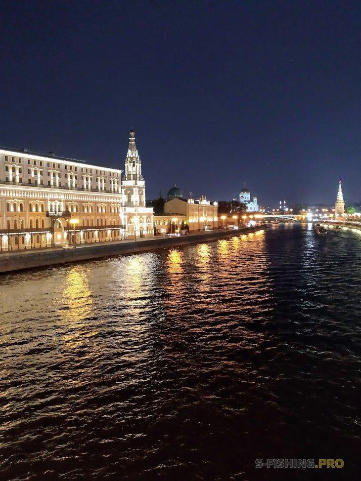 Отчеты с водоемов: Street Fishing на Москва-реке. Black Hole Rimer.