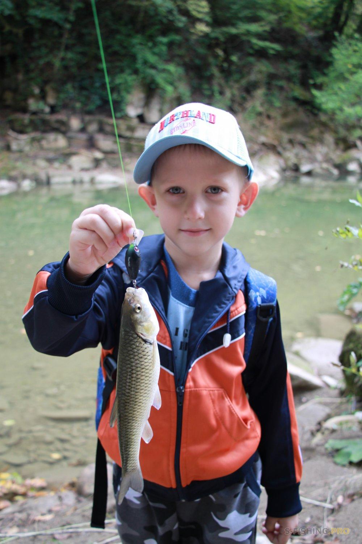Отчеты с водоемов: С сыном на речку