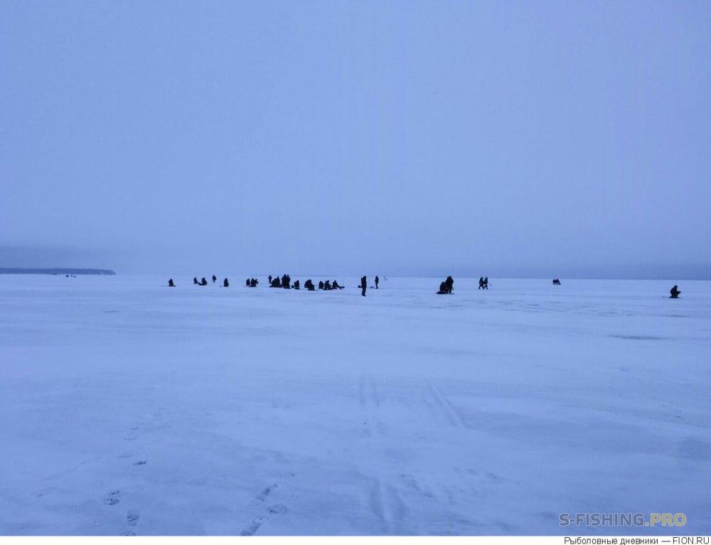 Отчеты с водоемов: Отчет о рыбалке: 13 января 2018 - 14 января 2018, Волга (Глазова гора)