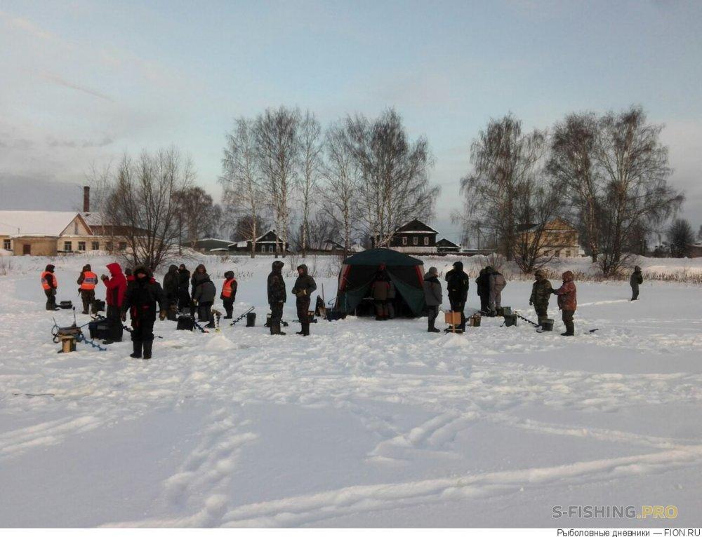 Отчеты с водоемов: Отчет о рыбалке: 10 февраля 2018 - 10 февраля 2018, Волга (Заволжск)