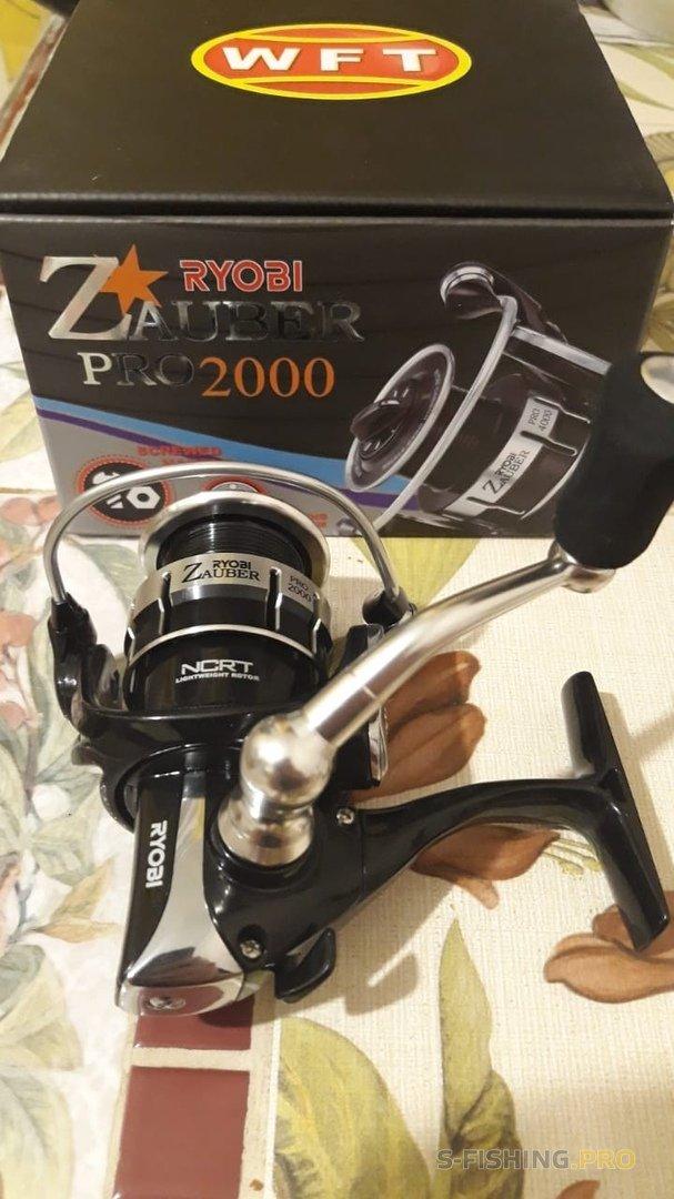 Мероприятия: Конкурс S-Fishing ПРО Angler. Приз приехал! Ryobi Zauber by WFT