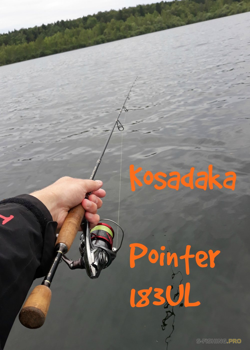 Обзоры: Обзор спиннинга для микроджига Kosadaka Pointer