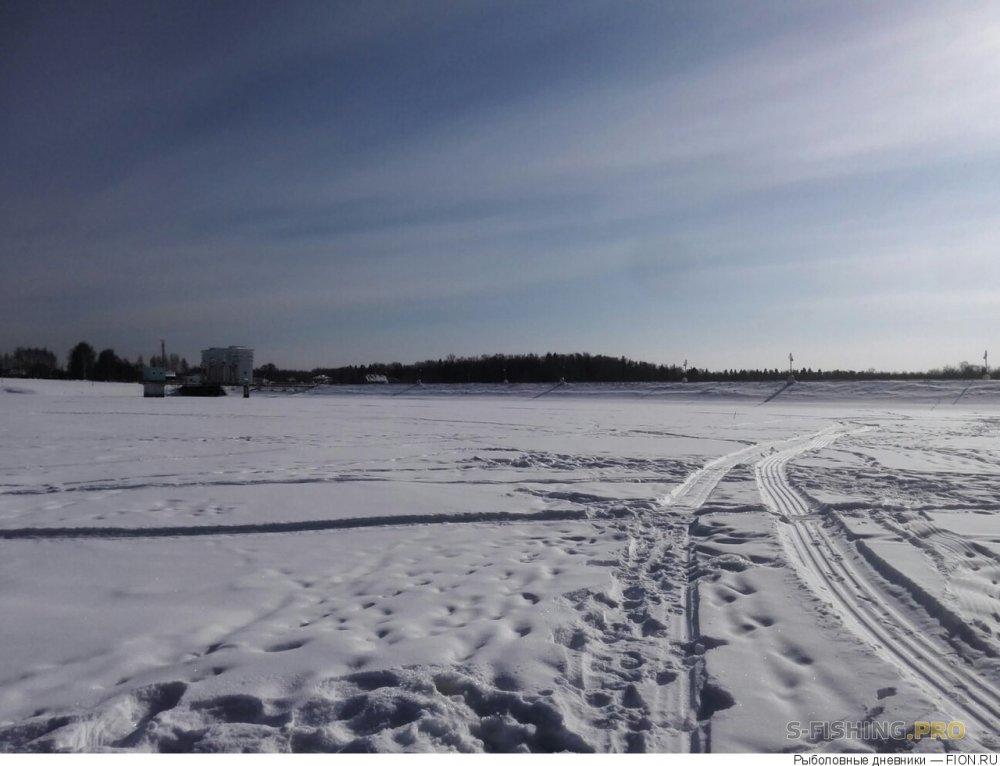 Отчеты с водоемов: Отчет о рыбалке: 03 марта 2018 - 03 марта 2018, Уводь, водохранилище