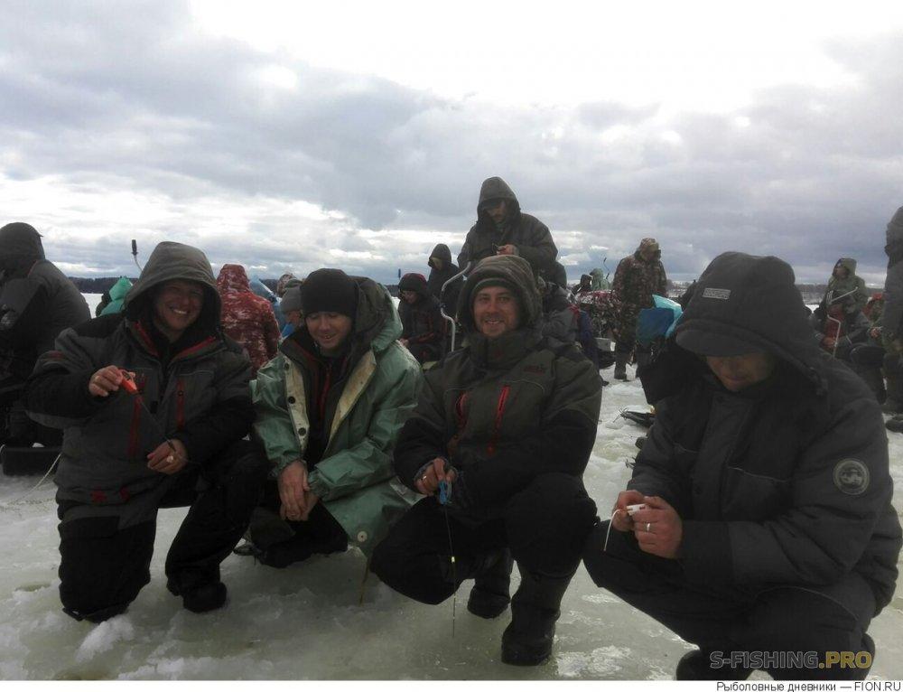 Отчеты с водоемов: Отчет о рыбалке: 07 апреля 2018 - 09 апреля 2018, Волга (Горьковское водохранилище)